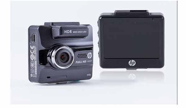 Camera hành trình chính hãng cao cấp hp f550g gps