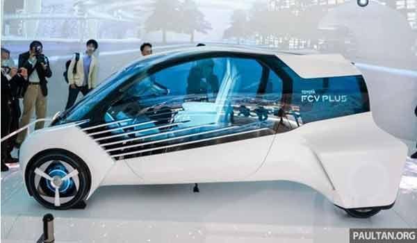 Mẫu xe có thể cấp điện dân dụng trong tương lai- Toyota FCV Plus