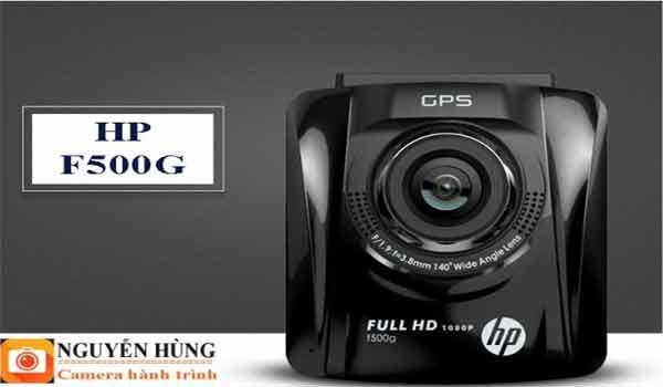 Thông số ấn tượng về camera hành trình F500G thương hiệu HP