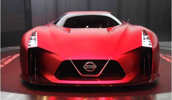 Xe thể thao Nissan Vision Gran Turismo của Nhật Bản trong tương lai