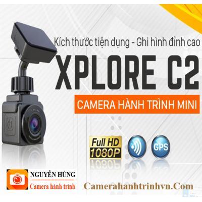 Vietmap Xplore C2 Camera hành trình mini GPS+Wifi