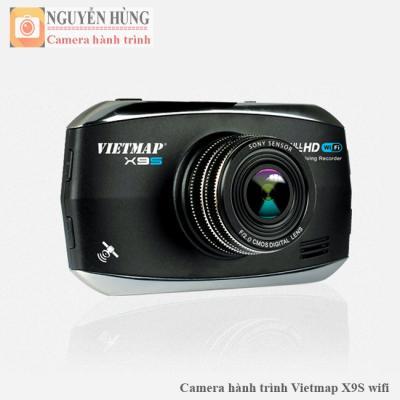 Camera hành trình Vietmap X9S X9 PLus wifi 2017 GPS Cảm biến Sony