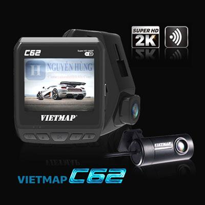 Vietmap C62 - Camera Hành Trình [Ghi Hình Trước Sau 2K-Wifi-Cảnh Báo Giao Thông]