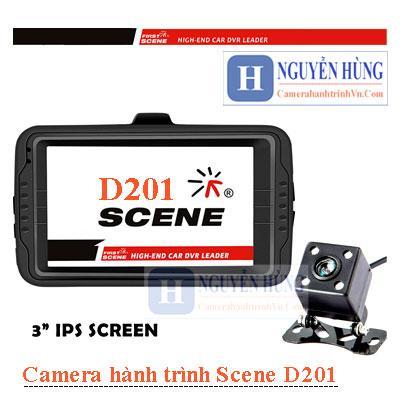 Scene D201 - Camera Hành Trình Trước Sau Kiêm Lùi [Có Tiếng Việt]