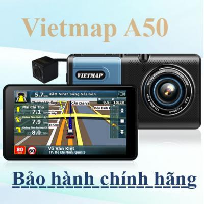 Vietmap A50 – Camera Hành Trình Trước Sau Dẫn Đường kiêm lùi - Bảo Hành Chính Hãng