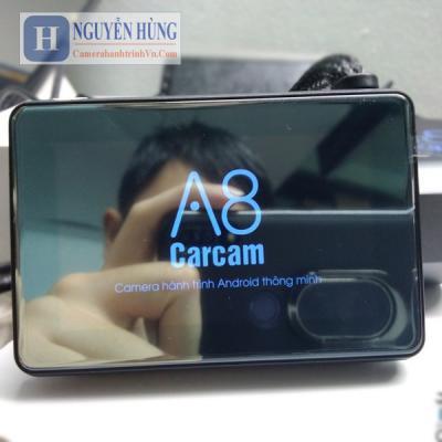 Carcam A8 - Camera hành trình trước sau 4G Wifi GPS định vị theo dõi từ xa