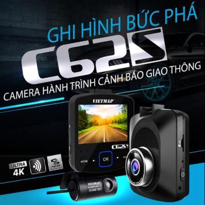 Camera Hành Trình VietMap C62S - Ghi hình trước sau - Cảnh báo GT