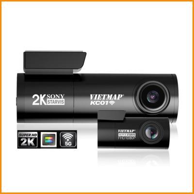VietMap KC01/ KC01 Pro - Camera Hành Trình Wifi GPS   Ghi hình trước sau