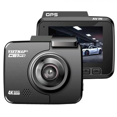 VietMap C61 Pro - Camera hành trình 4K Wifi - Sony Stravis Ver.2021